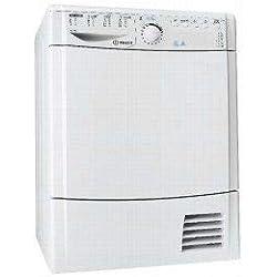 Indesit EDPA 945 A1 ECO Autonome Charge avant 9kg A+ Blanc sèche-linge - Sèche-linge (Autonome, Charge avant, Pompe à chaleur, Blanc, boutons, Rotatif, 112 L)