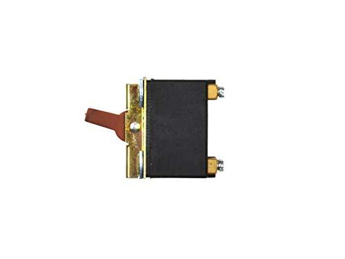 Ersatz Taste Schalter Switch, Ersatzschalter für Winkelschleifer - Model: DK4-6/2B - 5A 250V/10A 125V - Kompatibel mit 115/125mm Winkelschleifer Skil, FERM