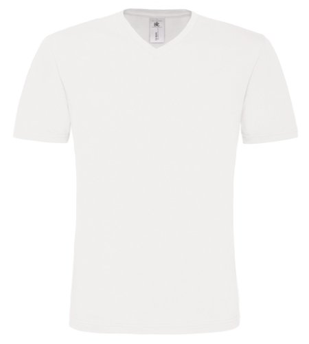 BCTM060 T-Shirt Mick Classic / Men White