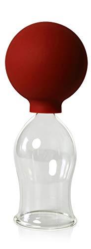 Schrpfglas Mit Saugball 40mm Zum Professionellen Medizinischen Feuerlosen Schrpfen Mundgeblasen Handgeformt Schrpfglas Schrpfglser Lauschaer Glas Das Original