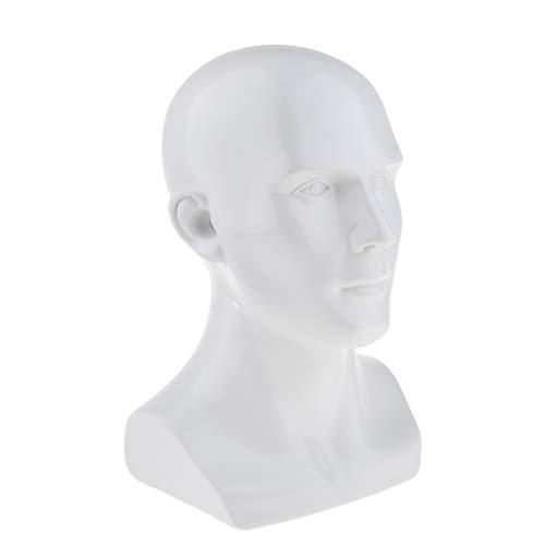 Resin Mannequin Head Für Displayhüte, Schmuck, Brillen, Schwimmbrillen, Weiß