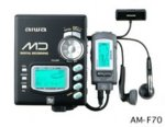 Aiwa am-f 70Tragbarer Mini Disc Player -
