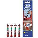 Oral-B Stages Power Disney Cars & plans Tête de rechange pour brosse à dents électrique-Pack de 4