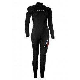 HEAD Multix VL Multisport 2,5 Wetsuit Ladies Black/Red Größe XL 2019 Triathlon-Bekleidung
