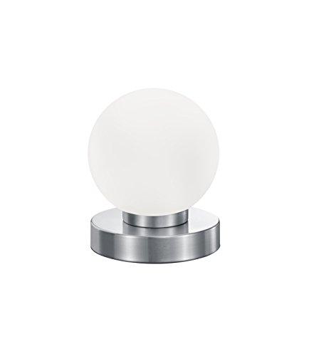 2 x 3 LED silberfarbene Farbe hell Touch Tap Nachtlicht Lampe Stick Click On Batteriebetrieben Push On Off Spot Lichter