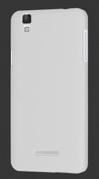 ImagineDesign WOW Imagine(TM) Rubberised Matte Hard Case Back Cover For Micromax YU Yureka / Yureka Plus (White)