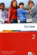 Red Line 2: Workbook mit Audio-CD und Lernsoftware Klasse 6 (Red Line. Ausgabe ab 2006)