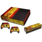 RISHIL WORLD Spainish Flag Pattern Decal Stickers for Xbox One Game Console