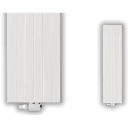Radiateur eau chaude REGGANE DECO type 21 vertical blanc largeur 450mm hauteur 2100mm 1457W Réf 21DV210 0450 / F28212100