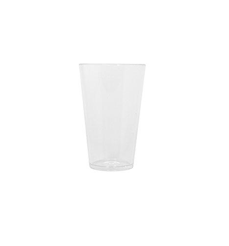 Thumbs Up Bierglas Silikonglas Silicone Pint-450 ml, Silikon, Transparent, 9 x 9 x 14 cm (Strand Weingläser)