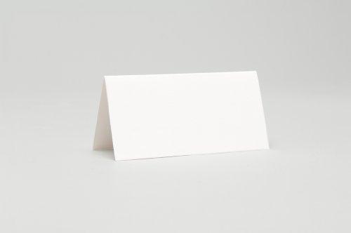 Lot de 50 cartons de table Blanc mat
