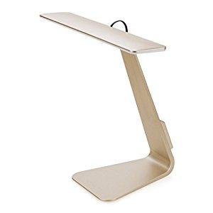 BSR International Tête Sensitive Led Eye Lampe de bureau de protection Rechargeable sans fil et tête pliable lampe de table - 3 Luminosité Dimmable s
