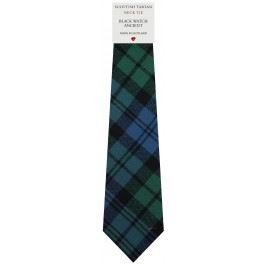 I Luv LTD Mens Tie All Wool Made in Scotland Black Watch Ancient Tartan