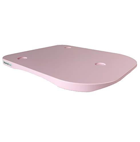 thermoBase Holz-Gleitbrett für Thermomix TM6/TM5 Lackiertes Holz Farbe: soft pink