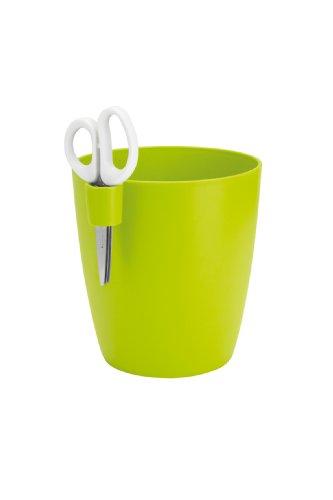 Elho 8121641538300 Brussels Kräutertopf Single L, lime grün/zitrone / gelb