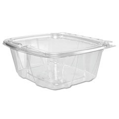 Clearpac Container (Dart ClearPac Container Lid Combo-Packs, 6.4 x 2.6 x 7.1, 32 oz, Clear, 200/Carton by DART)
