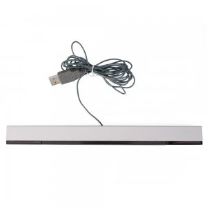 onceall-wired-sensor-bar-with-usb-plug-for-wii-black-and-silvercable-23m
