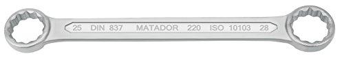 MATADOR 830 clé polygonale double 25 x 28 mm, 2528 0220