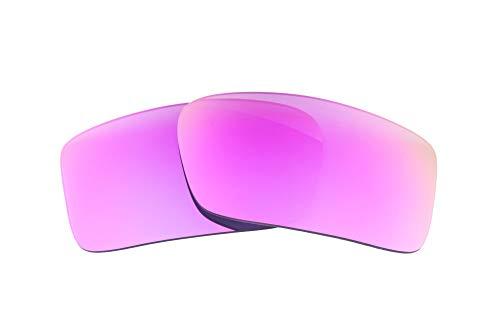 LenzFlip Polarisierte Ersatz Linsen für Oakley Gascan-mehrere Möglichkeiten, Herren, Gascan, Bright Pink Polarized