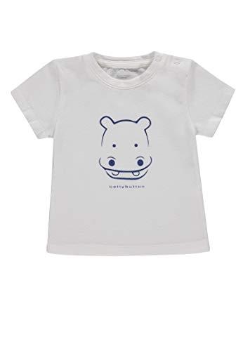 Star White Bekleidung (Bellybutton Kids Baby-Jungen 1/4 Arm T-Shirt Weiß (Star White 1230), 86)
