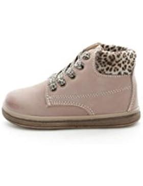 Primigi - Zapatos de cordones para niña Beige Taupe