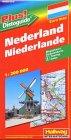 Rand McNally Hallwag International Road Map: Netherlands -