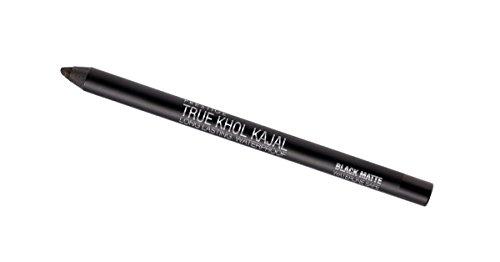 Prestige Cosmetics True Khol Kajal, Black Matte, .04 Ounce by Prestige Cosmetics