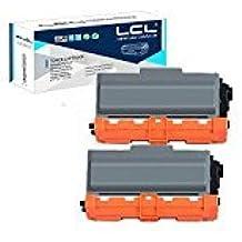 LCL(TM) TN3380 TN3330 TN-3380 TN-3330 8000 páginas (2-Pack Negro) Cartuchos de Tóner Compatible para Brother DCP-8110DN HL-5440D HL-5450DN HL-5470DN DWT HL-6180DUW DWT HL5445D MFC-8510DN