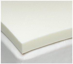 E 3.0100% Memory Foam Matratze Pad, bed Topper, Overlay aus 100% Memory Schaum temperaturempfindlich, Memory-Foam, natur, Twin XL ()