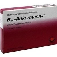 B12 ANKERMANN überzogene Tabletten 50 St Überzogene Tabletten