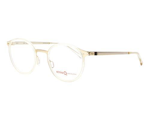 Etnia Barcelona Brille (ULM CLGD) Metall - Acetate Kunststoff matt gold - gold