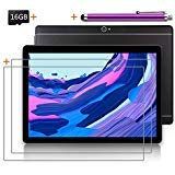 Android Tablet 10 inch with SIM Card Slot Unlocked +(2) Screen Protector +16GB