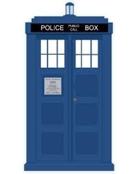 FREE UK P/&P.......W1570 WHO/'s TARDIS BLUE ENAMELLED CUFFLINKS GIFT BAG DR