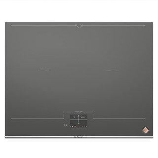 De Dietrich DPI7698G plaque Gris Intégré Plaque sans zone à induction - Plaques (Gris, Intégré, Plaque sans zone à induction, Verre-céramique, 3700 W, Rectangulaire)