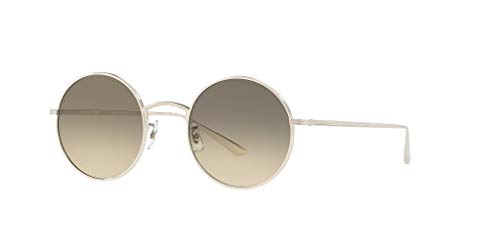 Oliver Peoples Sonnenbrillen THE ROW AFTER MIDNIGHT OV 1197ST SILVER/SHALE SHADED Unisex