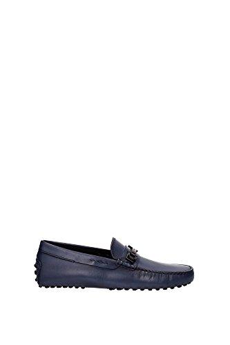 XXM0EON653D9CU817 Tod's Loafers Herren Leder Blau Blau