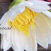 ZHUDJ Künstliche Blume 4-Farbig Lotus Lotus Teich Seerosen Kunst Anstecker Künstliche Blume Hotel Home Dekorationen Künstliche Blumen Silk Blume