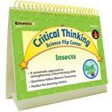 Critical Thinking Science Flip Center Insects by Edupress