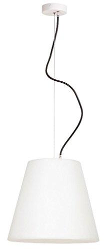 Rabalux 8660 A + + to E, Lida, métal, E27 Lampe suspension d'extérieur Blanc/Anthracite, 35 x 35 x 120 cm