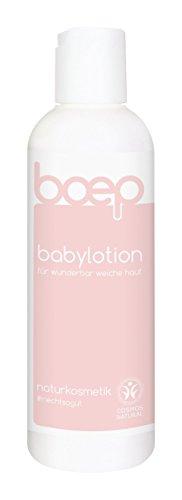 boep babylotion – Favorit der #InstaMums – Naturkosmetik Bodylotion mit Bio-Olivenöl – Liebevoll entwickelt von einer Ärztin und Mama (200 ml)