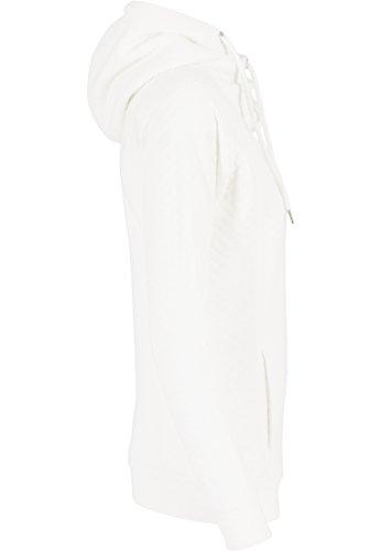 Urban Classics Damen Sweatshirt Kapuzenpulli Quilt Hoody Offwhite
