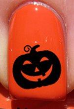 Halloween Citrouille joyeuse - Stickers pour ongles YRNAILS