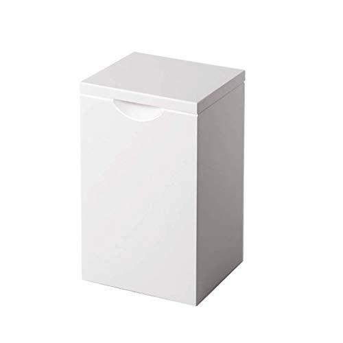 ple Square Desktop Mülleimer Mini Badezimmer Küche Wohnzimmer Schlafzimmer Desktop Papierkorb ()