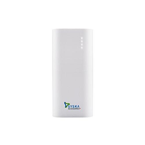 Syska Power Bar 67 6700mAH Power Bank (White)