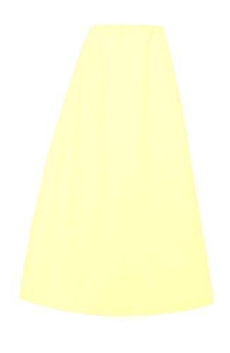 Damen Indian Saree Baumwolle fertige petticoat oder gesteppt Unterrock in einer Größe 022 - Gebrochen weiß, Einheitsgröße