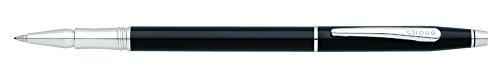 cross-classic-century-stylo-roller-a-encre-gel-non-retractable-laque-noire