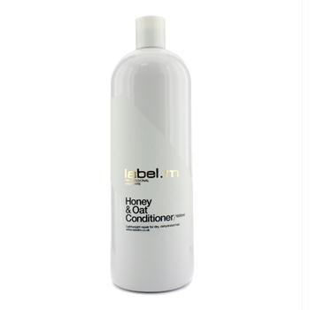 Label.m Honey and Oat Conditioner for Dry, Dehydrated Hair 33.8 Oz (1000 ml). by Label.m BEAUTY (English Manual)