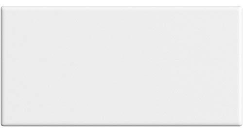 SUENOSZZZ-ESPECIALISTAS DEL DESCANSO Cabecero de Cama Blanco Liso Cabeceros para Camas tapizado Piel Sintetica Cabeceros de Madera Acolchado para dormitorios