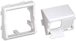 Panduit-faceplates (PANDUIT Faceplate Kit CFPFS2AW Einsatz/Abdeckung für Kommunikationstechnik 0074983615216)