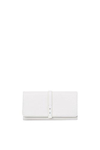 ESPRIT Damen 067ea1v001 Geldbörse, Weiß (White), 1x9x19 cm